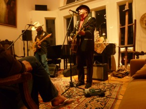 David Onley & Sergio Webb – House Concert – San Francisco, CA – 10/5/10