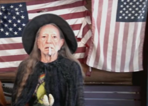 Willie Nelson as Gandalf
