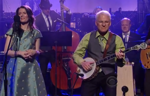 "Steve Martin and Edie Brickell Perform ""When You Get to Asheville"" on David Letterman 4/23/13 [VIDEO]"