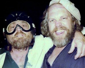 Willie Nelson and Jerry Max Lane