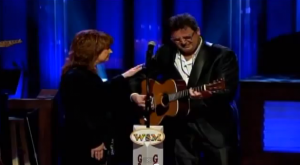 Vince Gill and Patty Loveless - George Jones Funeral
