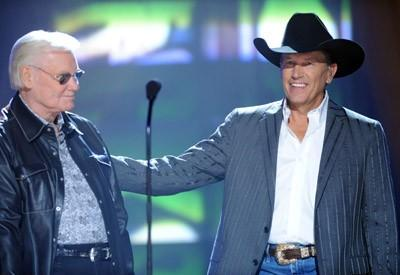 George Jones and George Strait