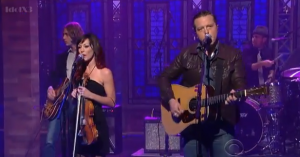"Watch Out! –  Jason Isbell – ""Stockholm"" – David Letterman 7-23-13"