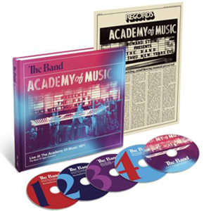 The Band's Dec. 28-31 1971 Performances at New York's Academy of Music Gets the Box Set Treatment