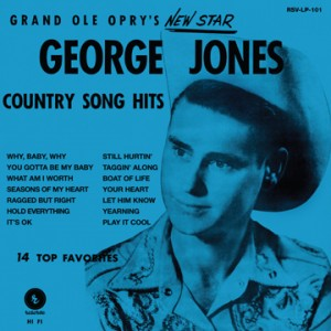 George Jones' First Album, 'The Grand Ole Opry's New Star,' to be Re-Issued For The First Time