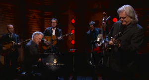 "Watch Out: Ricky Skaggs & Bruce Hornsby ""The Way It Is"" on Conan10/17/13"