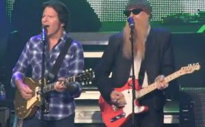 "Watch Out! Billy Gibbons joined John Fogerty on stage in Tulsa, Oklahoma for ""Born on the Bayou.""  [VIDEO]"