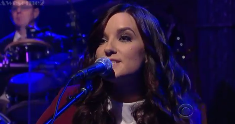 "Brandy Clark – ""Stripes"" Letterman"