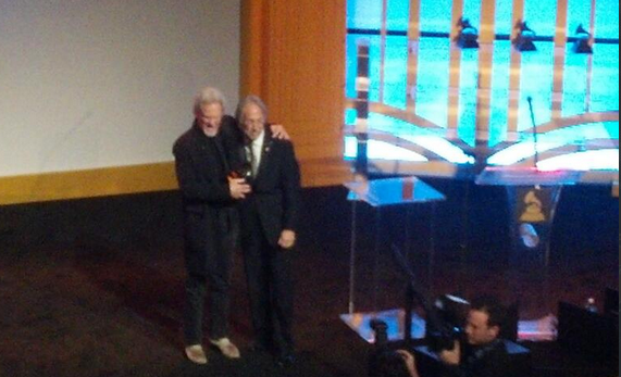 Kris Kristofferson Receives the Grammy for Lifetime Achievement