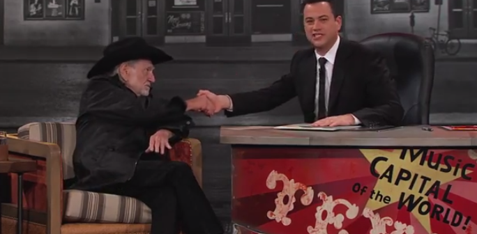 Willie Nelson on Jimmy Kimmel Live