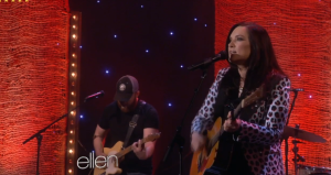 "Watch Out! Brandy Clark – ""The Ellen DeGeneres Show"" 3/24/14 , ""Stripes"" [VIDEO]"