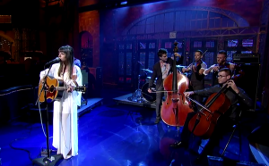 "Watch Out!  Hurray For The Riff Raff ""The Body Electric"" on David Letterman 6/26/14"