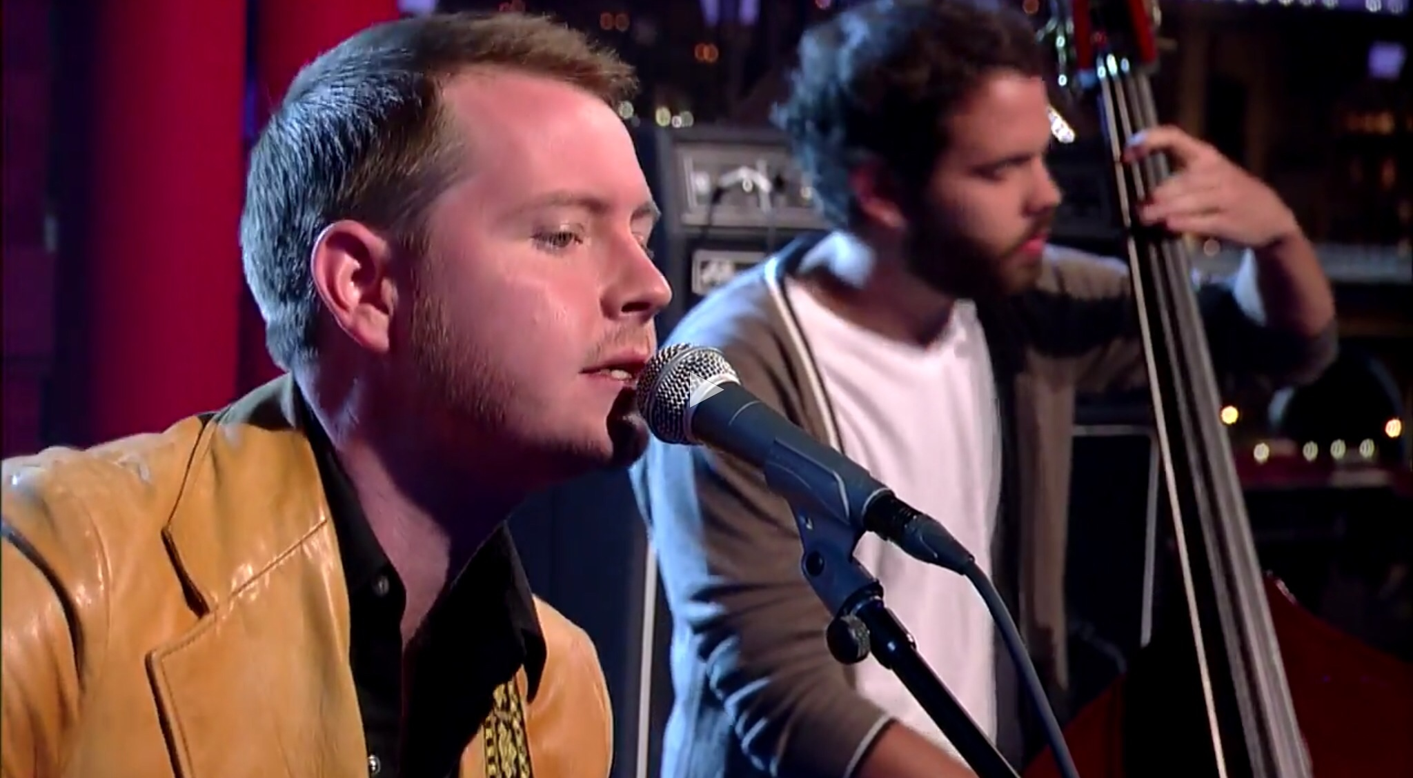 "Watch Out!  John Fullbright: ""Happy"" - Late Show with David Letterman"