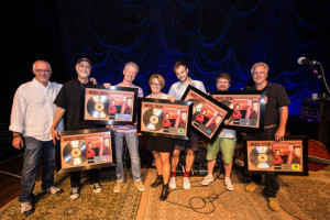 Nickel Creek Surprised With Platinum Records