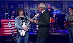 "Watch Out! Ryan Adams: ""Gimme Something Good"" on David Letterman"