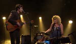 "Watch Out! Shovels & Rope ""The Devil Is All Around"" on Conan 9/03/14"