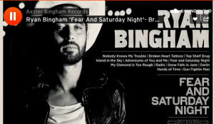Ryan Bingham Announces New Album, 'Fear and Saturday Night,' Streams New Song 'Broken Heart Tattoos'
