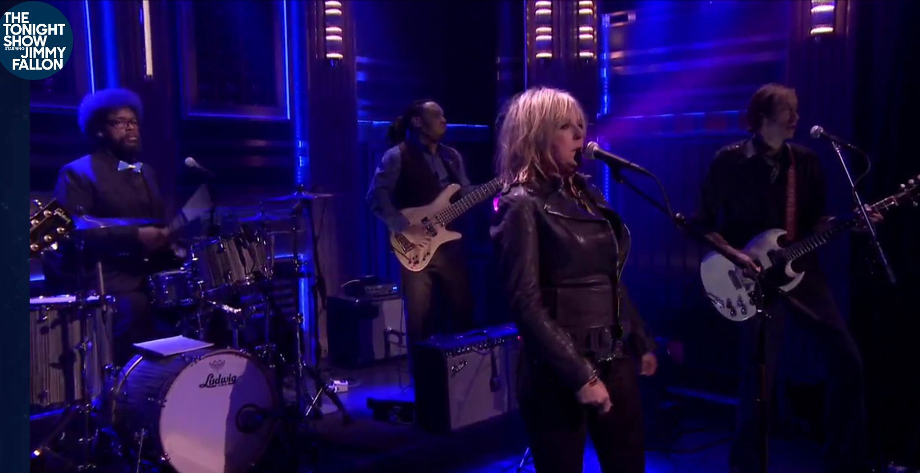 "Lucinda Williams - ""Protection"" on The Tonight Show with Jimmy Fallon"