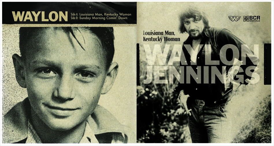 Waylon Jennings - Louisiana Man, Kentucky Woman