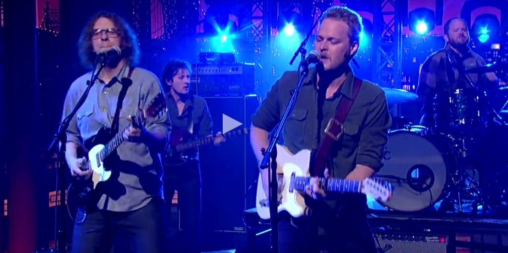 "Hiss Golden Messenger: ""Southern Grammar"" - David Letterman"