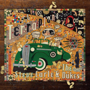 "Steve Earle To Release His 16th Studio Album, ""Terraplane,"" and Memoir in 2015"