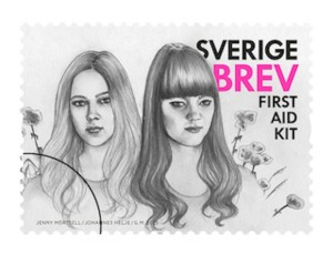 First Aid Kit Stamps Released in Sweden