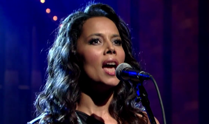 "Rhiannon Giddens Performs ""Waterboy"" on The Late Show with David Letterman"