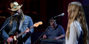 "Watch Out! Chris Stapleton: ""Traveller"" – David Letterman"