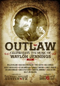 Modern Outlaws to Pay Tribute to Waylon Jennings