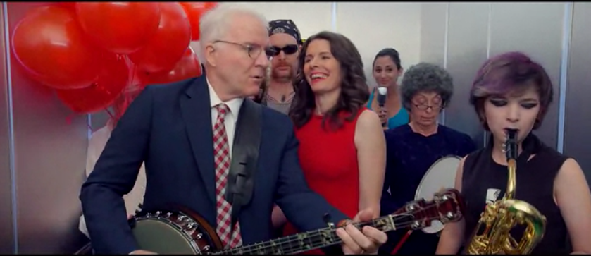 "Steve Martin and Edie Brickell -  ""Won't Go Back"""