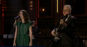 "Watch Out! Steve Martin and Edie Brickell – ""Won't Go Back"" on the Jimmy Fallon Show [VIDEO]"