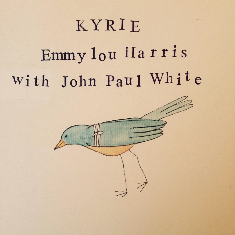 "Emmylou Harris & John Paul White have released ""Kyrie,"""