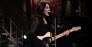 Watch Out! Aubrie Sellers Performs 'Light of Day' on The Late Show with Stephen Colbert