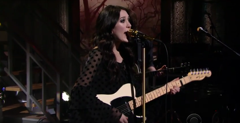 Aubrie Sellers Performs 'Light of Day' on The Late Show with Stephen Colbert