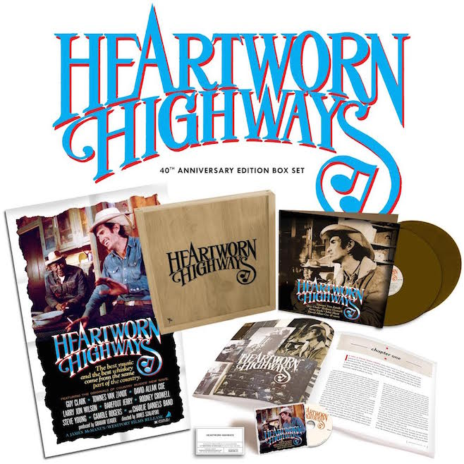 Heartworn Highways 40th Anniversary Box Set