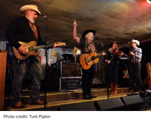 Willie Nelson and Asleep at the Wheel Surprise Fans at Austin's Broken Spoke 2-4-2016