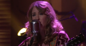 "Listen Up!  Margo Price ""Hands Of Time"" on Conan 3/24/16"