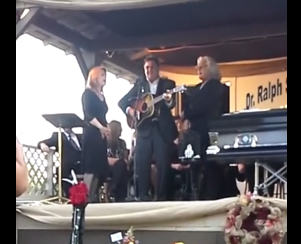 Dr Ralph Stanley funeral - Vince Gill, Patty Lovelace, and Ricky Skaggs