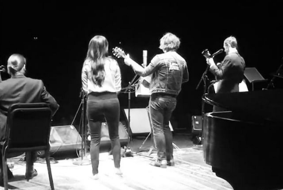 Ryan Adams Performs With Chris Thile & Kacey Musgraves On A Prairie Home Companion