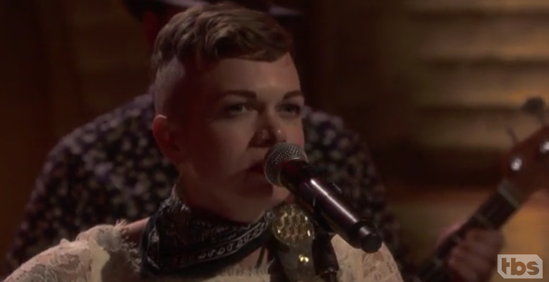 "Lillie Mae ""Over The Hill And Through The Woods"" and ""To Go Wrong"" on Conan"