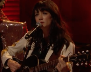 "Watch Out! Nikki Lane  Performs ""Jackpot"" on Conan 4/26/17"