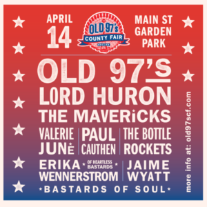 Old 97's County Fair Line-Up Announced