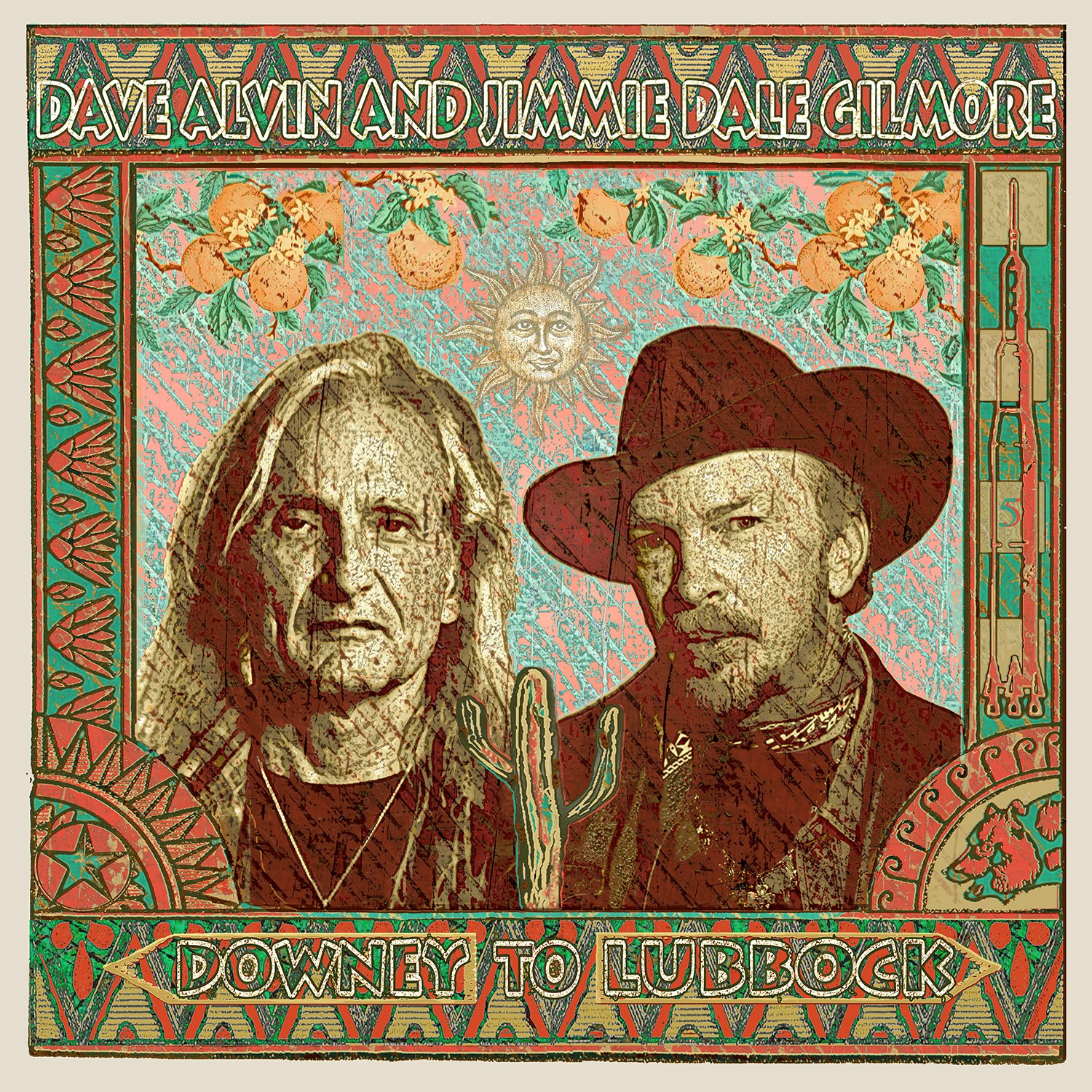 Dave Alvin and Jimmie Dale Gilmore - 'Downey to Lubbock'