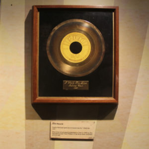 Johnny Cash Museum Unveils 'I Walk the Line' Gold Record On Anniversary