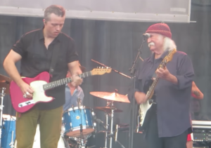 David Crosby Joins Jason Isbell And the 400 Unit on Stage at Newport Folk Festival