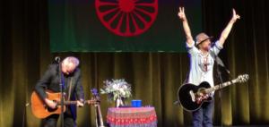 John Prine Joins Todd Snider On The Ryman Auditorium Stage